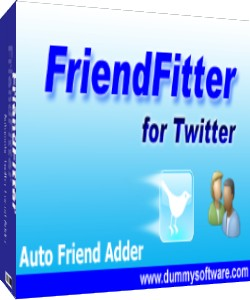 Twitter FriendFitter Auto Friend Adder, Auto Follow