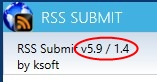 RSS Submit 5.9 / 1.4