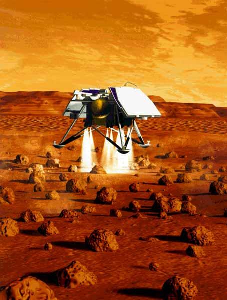nasa spacecraft lands on mars - photo #39